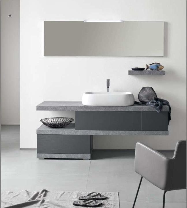 Mobili Bagno Design In Pietra: Per realizzare un bagno rustico moderno si pu? scegliere tra diversi.