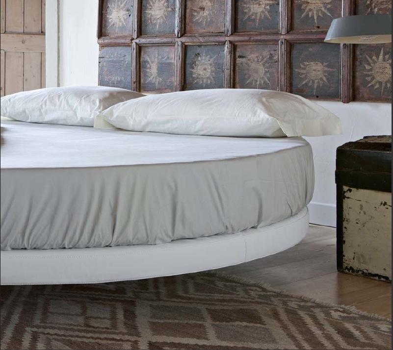 Rundes Bett RING Made in Italy 100% mit matratze 220 Doppel - Round ...