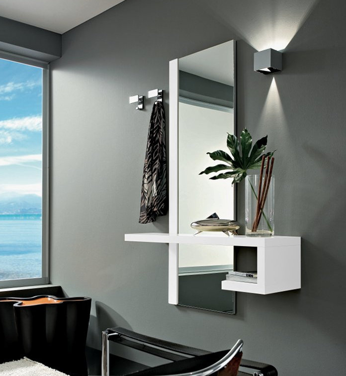 Mobile Da Ingresso Rovere Sbiancato Astor A04 Pictures to pin on ...