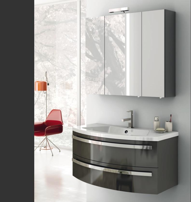 mobili per il bagno moderni. bagno moderno retr with mobili per il ... - Arredo Bagno Moderno On Line