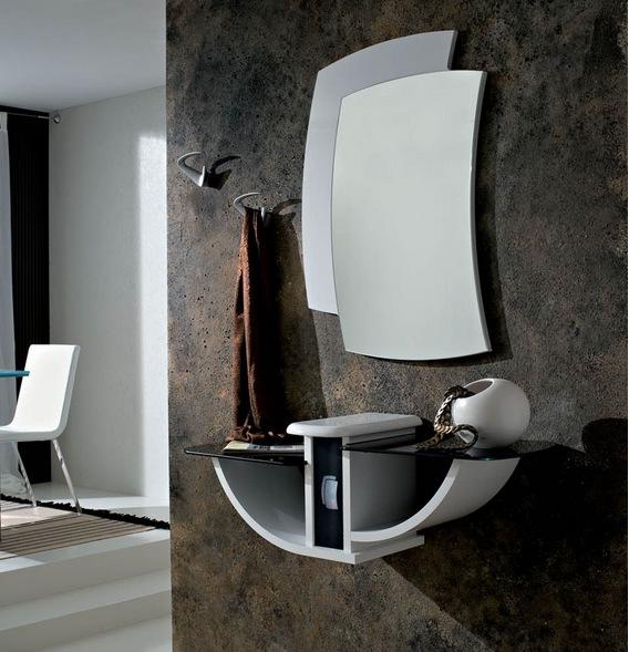 Mobili Ingresso Gondola : Mobile ingresso con specchio sandy consolle ...