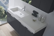 Lavabo City integrato L120