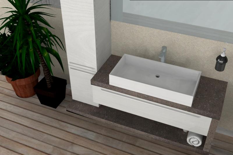 Specchio bagno rovinato come smaltare vasca da bagno il - Specchi per bagno moderni ...