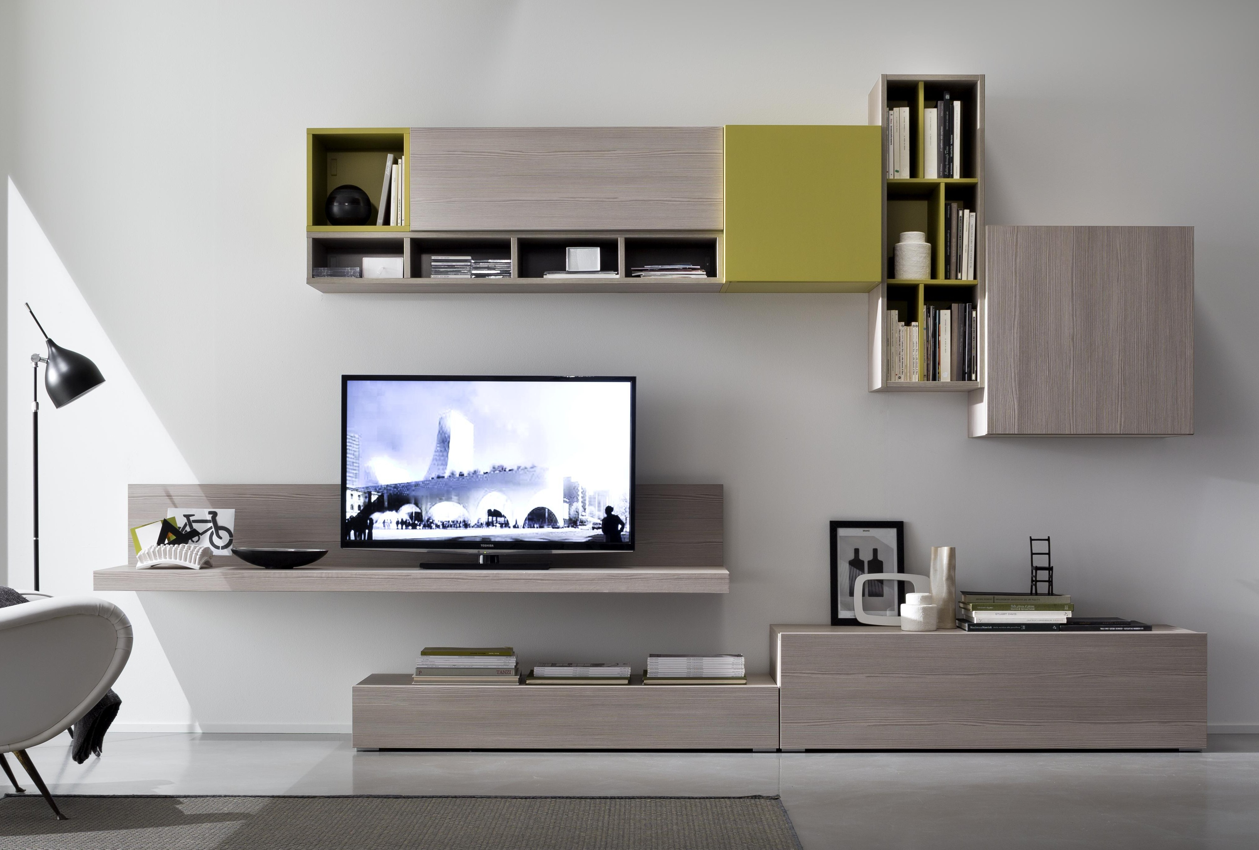 Parete soggiorno granato mobili idee per il design della - Mobile soggiorno angolo ...