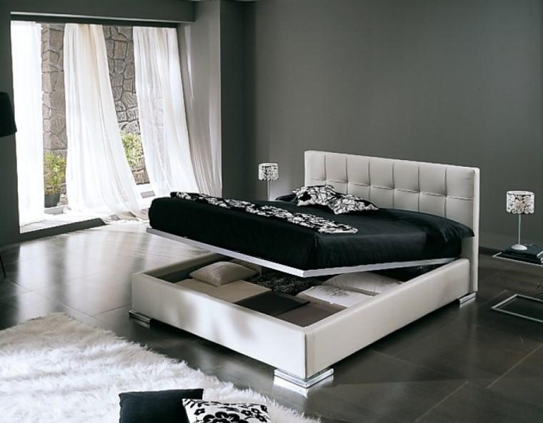 Letto matrimoniale pizzico con box in eco pelle bianco e rete alzabile ebay - Camera da letto berloni ...