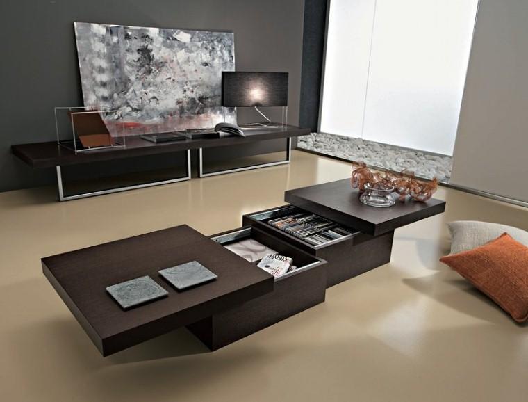 Tavolino basso design asja tavolo salotto apribile ebay for Mobile basso da sala