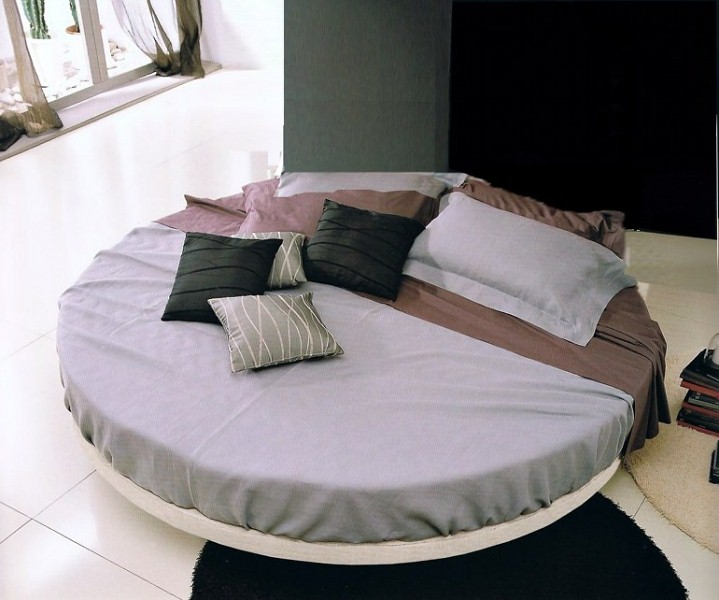 Awesome Letto Rotondo Matrimoniale Pictures - Skilifts.us - skilifts.us