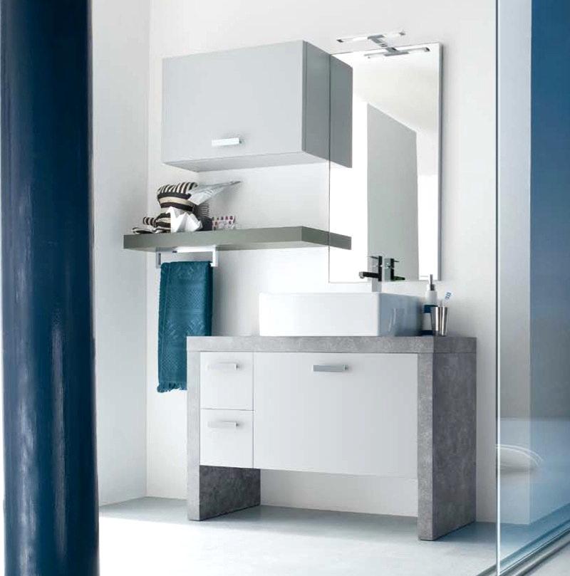 Mobile bagno design a terra lusso vari colori ch19 con for Arredo bagno design lusso